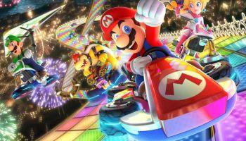 Como o Mario Kart 8 Deluxe tem feito a alegria de uma menina