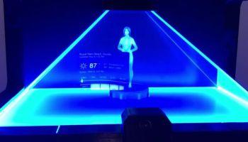 Desenvolvedor fã de Halo cria seu próprio holograma da Cortana para o Windows 10
