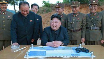 O risco mesmo é a Melhor Coréia ter lançado MEIO foguete