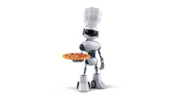 Respire aliviado, robôs não farão a sua pizza tão cedo