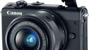 Canon EOS M100 — jogue fora seu smartphone