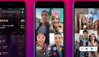 Facebook inicia testes do Bonfire, um app para chamadas de vídeo em grupo