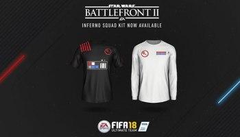 FIFA 18 e outros jogos da EA recebem conteúdo baseado no Star Wars Battlefront II