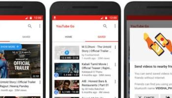 YouTube Go, que permite download de vídeos está disponível na Índia e Indonésia