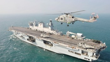 Brasil confirma interesse em comprar navio porta-helicópteros dos ingleses