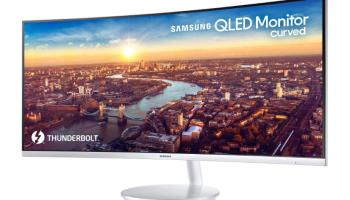 Samsung apresenta monitor QLED UltraWide com conexão Thunderbolt 3