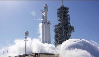 Aleluia: finalmente a SpaceX consegue testar o Falcon Heavy!