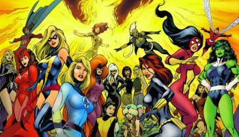 Marvel estaria considerando produzir um filme estrelado só por heroínas