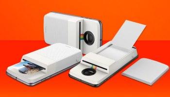 Moto Snap da Motorola e Polaroid que imprime fotos chega ao Brasil por R$ 999