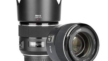 Meike vai colocar no mercado sua primeira lente com foco automático