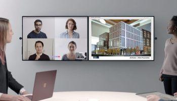 Microsoft anuncia o Surface Hub 2, a nova geração de seu painel digital para corporações