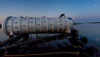 Microsoft testa datacentre submarino autosuficiente
