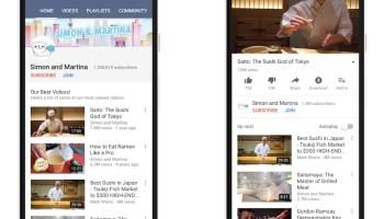 YouTube também tem novidades: assinaturas, premieres e lojinha