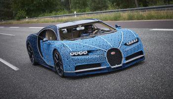 Este Bugatti Chiron foi feito com um milhão de peças de LEGO. E funciona