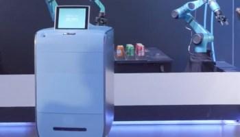Os simpáticos e atenciosos robôs concierge da Alibaba A.I. Labs