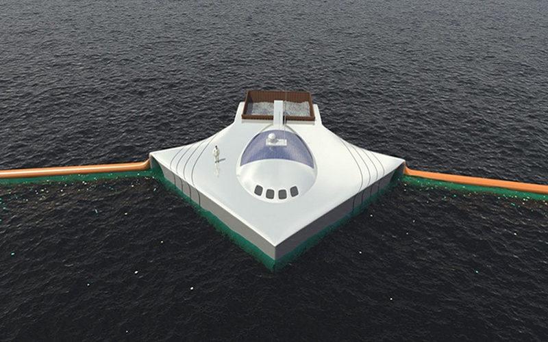 Tecnologia Para Limpar Oceanos