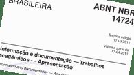 Desde 17 de abril de 2011 está em vigor a revisão da norma ABNT NBR 14724, sobre apresentação de trabalhos acadêmicos. E, embora seja supercontrolada, a norma já caiu na […]