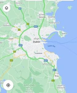 דבלין, אירלנד. מיקום עלילת שיחות עם חברים