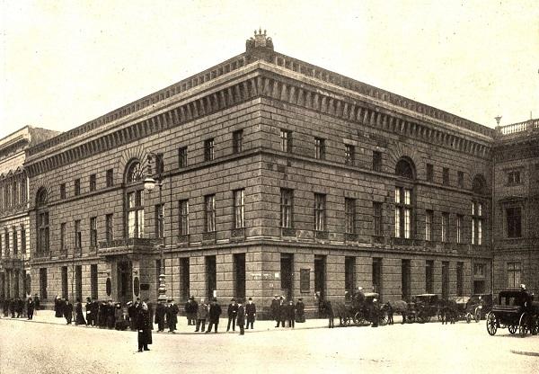 Berlin Palais Redern, 1900