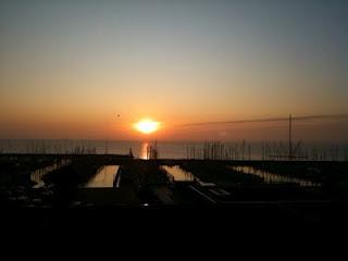 Sonnenaufgang in Kiel