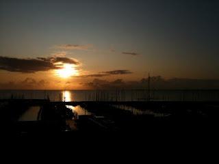Sonnenaufgang in Schiksee