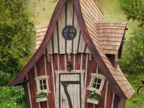 hexenhaus für garten meiselbach mobilheime: märchenhäuser