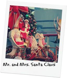 Kerstman wint van Sinterklaas