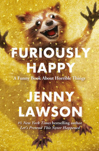 Meisjes van vijftig review Furiously Happy Jenny Lawson