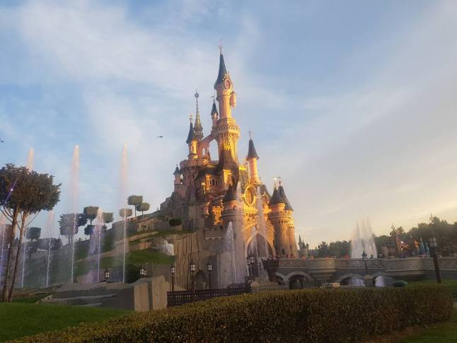 Disneyland parijs als training voor NYC marathon