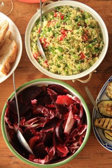 tabouleh en bietensalade