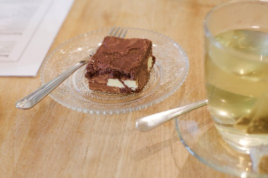 de brownie - Bij Merel