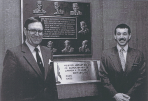 Konrad Meister (founder) and Andy Miller circa 1988.