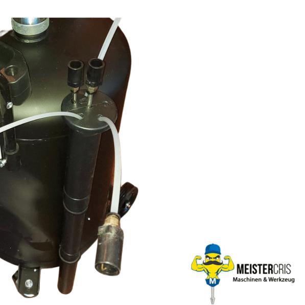 Ölablassgerät Ölablasswanne Ölauffangbehälter mit Druckluft 3