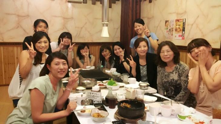 韓国語中級クラスは7/12に終了しました