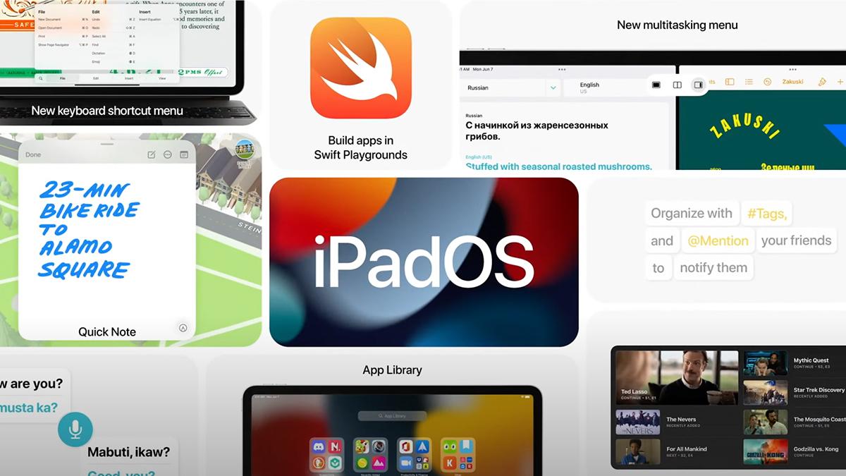 [WWDC21리뷰] ②iPadOS15, 컴퓨터로서의 아이패드
