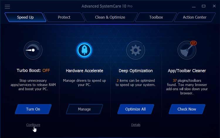 Resultado de imagen de iObit Advanced SystemCare Pro 10