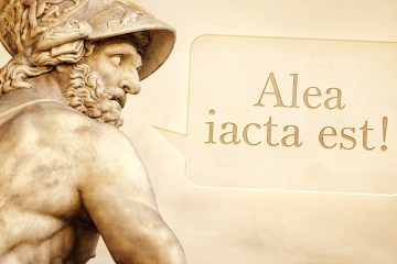 Frases célebres, latín, frases en griego, frases en latín, antiguas, CV, alea iacta est, trabajo, mundo laboral, RRHh