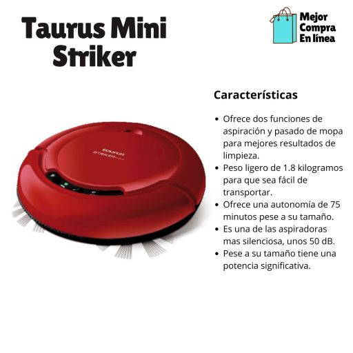Aspirador Inteligente Taurus Mini Striker