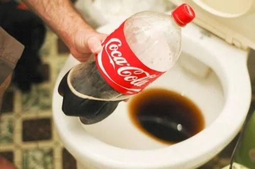 Usos de la Coca Cola.