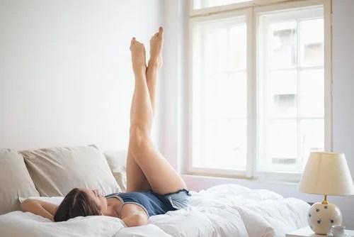 Extensão de pernas para dores nos joelhos
