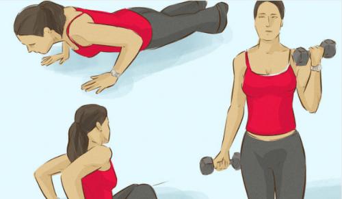 3 ejercicios para fortalecer los músculos de tus brazos