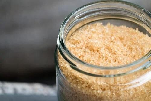 Exfoliante de azúcar y aceite