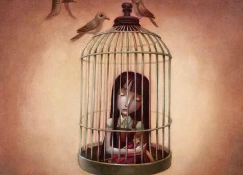 niña-encerrada-en-una-jaula