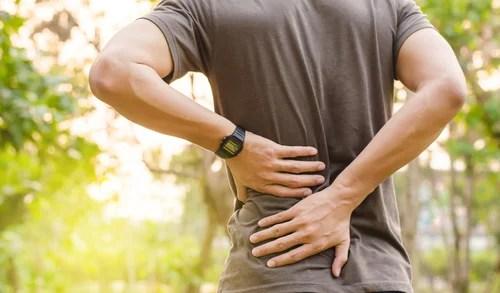 Dolor de espalda debido a la fibromialgia