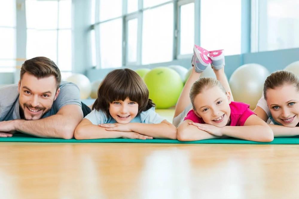 الفوائد البدنية للرياضة في الأسرة