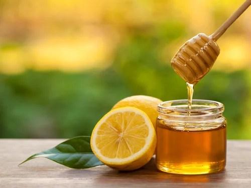 Mascarilla de limón con miel