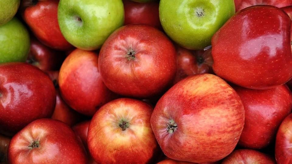 Mascarilla de manzana y aceite de oliva