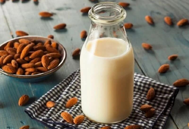 leche-almendras