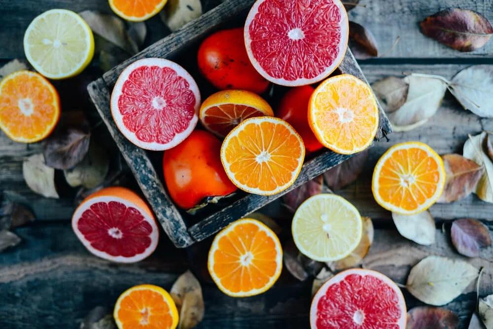 Frutas y vegetales que contienen antioxidantes