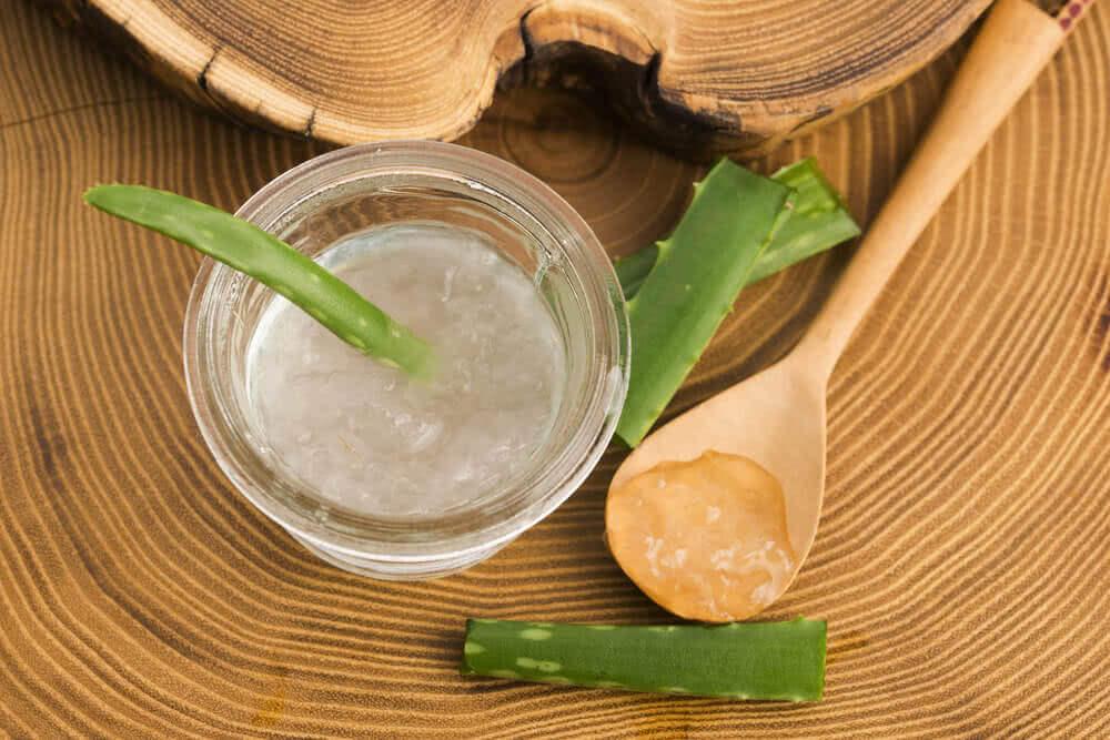 Aloe vera. contra la dermatitis seborreica